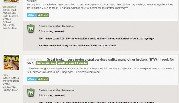 تقييم شركة ACY - هل شركة ACY Securities نصابة؟